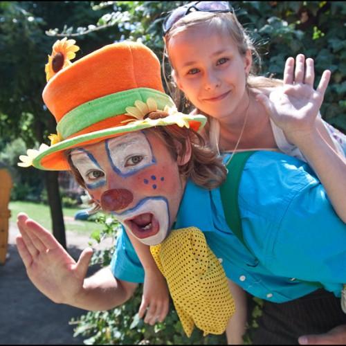 Zakonczenie roku w przedszkolu- impreza z klaunami