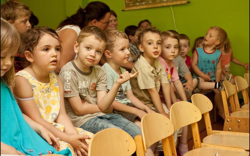 Występy w przedszkolu w Ursusie