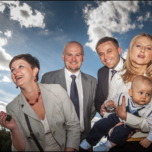 Zdjęcia ze chrztu Borysa