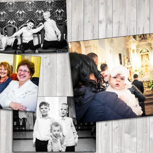 Zdjęcia z chrztu Zuzanny