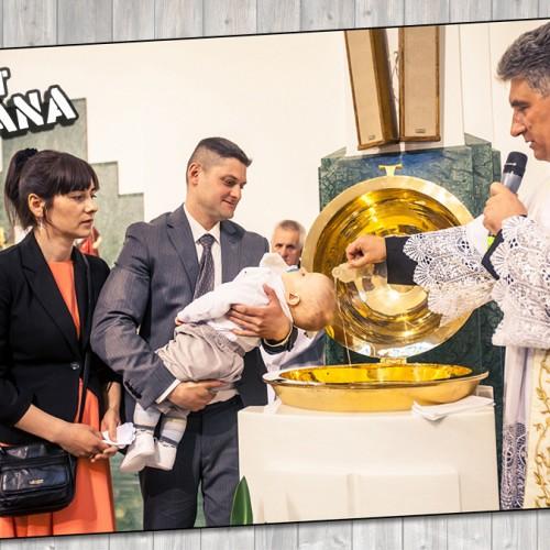 Zdjęcia z chrztu Jana
