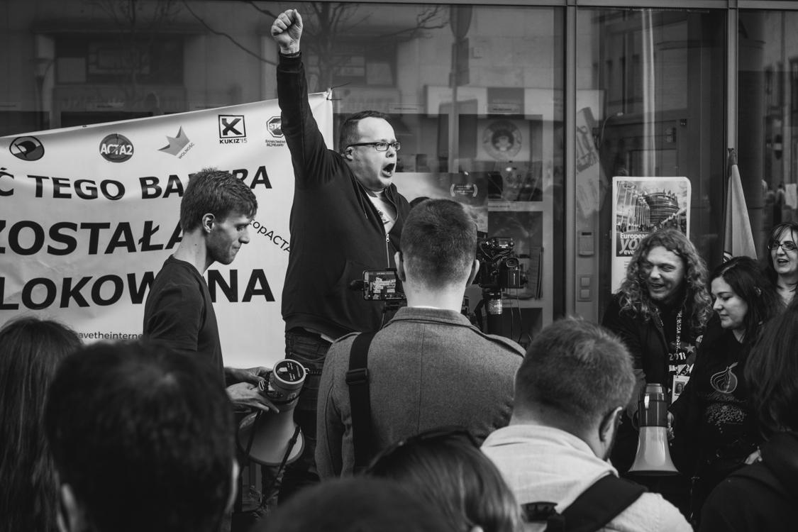 marcin osadowski protestuje