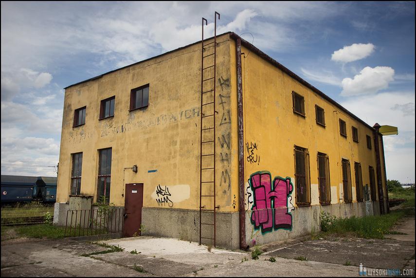 Kilelce, budynek kolejowy